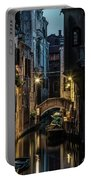 Romantic Evenin In Venice Portable Battery Charger