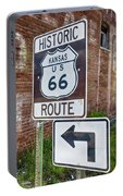 Route 66 - Kansas #1 Portable Battery Charger