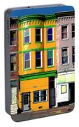 Row Houses Baltimore Portable Battery Charger