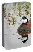 Ruddy Duck, Plumas County California Portable Battery Charger
