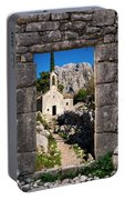 Ruins In Kotor, Montenegro Portable Battery Charger