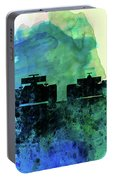 Rush Watercolor Portable Battery Charger
