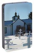 Russian Orthodox Church Ninilchik Alaska Portable Battery Charger