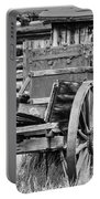 Rustic Horse Drawn Cart Portable Battery Charger