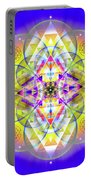 Sacred Geometry 731 Portable Battery Charger