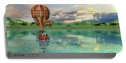 Sailing Away Daydream Steampunk Custom Portable Battery Charger