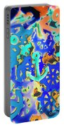 Sailing Pop Art Portable Battery Charger