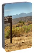 San Andreas Fault Portable Battery Charger
