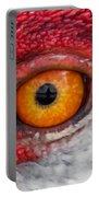 Sandhill Crane Eye Portable Battery Charger
