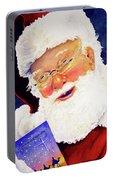 Santa Knows Portable Battery Charger