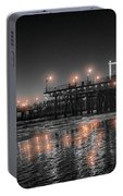Santa Monica Glow By Mike-hope Portable Battery Charger