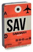 Sav Savannah Luggage Tag I Portable Battery Charger