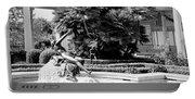 Sculpture Getty Villa Black White  Portable Battery Charger