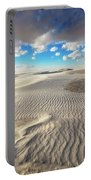 Sea Of Sand - Endless Dunes At White Sands New Mexico Portable Battery Charger