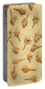 Sea Shell Scroll Portable Battery Charger