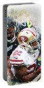 Seattle Seahawks Against San Francisco 49ers Portable Battery Charger