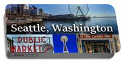 Seattle Washington Waterfront 01 Portable Battery Charger