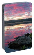 September Dawn At Esopus Meadows I - 2018 Portable Battery Charger