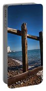Seven Sisters Through Sea Defences Portable Battery Charger