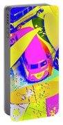 Seventies Surf Scenes Portable Battery Charger