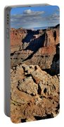 Shafer Canyon In Canyonlands Np Portable Battery Charger