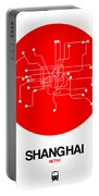Shanghai Red Subway Map Portable Battery Charger