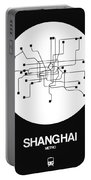 Shanghai White Subway Map Portable Battery Charger