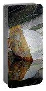 Shawanaga Rock And Reflections I Portable Battery Charger