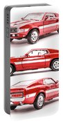 Shelby Gt500  Portable Battery Charger