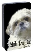 Shih Tzu For Dad-bubba Portable Battery Charger