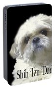 Shih Tzu For Dad Portable Battery Charger