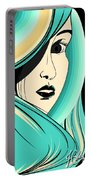 Shy Girl Portable Battery Charger