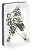 Sidney Crosby Pittsburgh Penguins Pixel Art 23 Portable Battery Charger