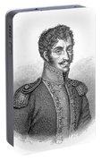 Simon Bolivar Venezuelan Statesman, Soldier, And Revolutionary Leader Portable Battery Charger