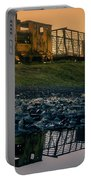 Sky Train Reflection Portable Battery Charger