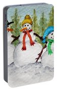 Snow Family Portable Battery Charger