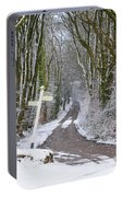 Snow In The Trees Portable Battery Charger