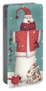 Snowman 3 Portable Battery Charger