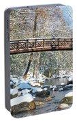 Snowy Bridge Portable Battery Charger