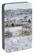 Snowy Slope County Portable Battery Charger