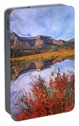 Sofa Mountain Reflecteion, Waterton Portable Battery Charger