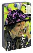 Sonic Exploration - A Jimi Hendrix Portrait Portable Battery Charger