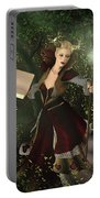 Sorceress And Magic Portable Battery Charger