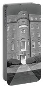 South Carolina State Hospital Black And White Portable Battery Charger by Lisa Wooten