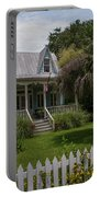 Southern Coastal Tin Roof Cottage Portable Battery Charger