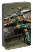 Sparty At Rest Portable Battery Charger