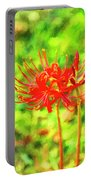 Spider Lily Cezanne Portable Battery Charger