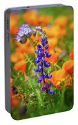 Spring Delight - Superbloom 2019 Portable Battery Charger