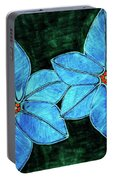 Spring Star Flowers Portable Battery Charger