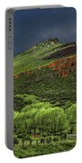 Spring Storm At Milepost 84 Portable Battery Charger